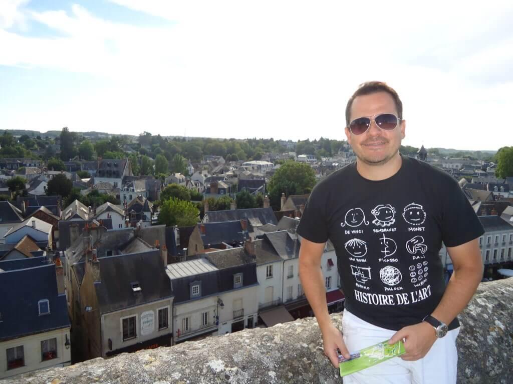 A charmosa cidade de Amboise