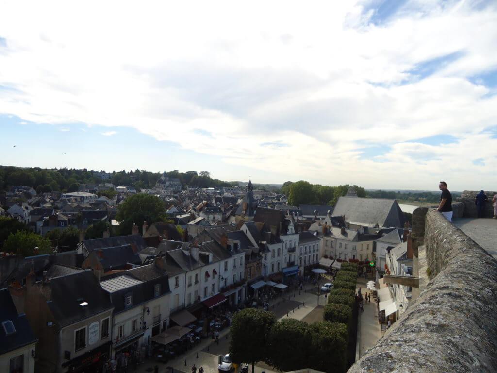 Paisagens assim são comuns no Vale do Loire