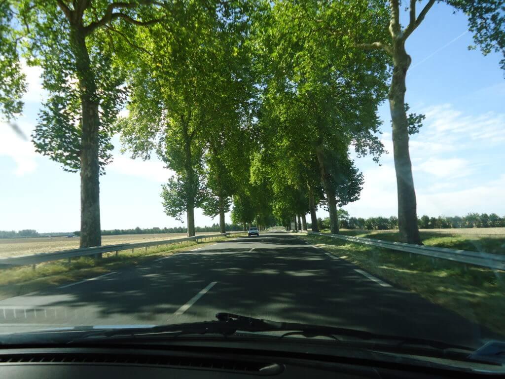Pelas estradas da França
