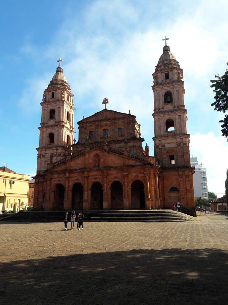 Catedral no estilo missioneiro