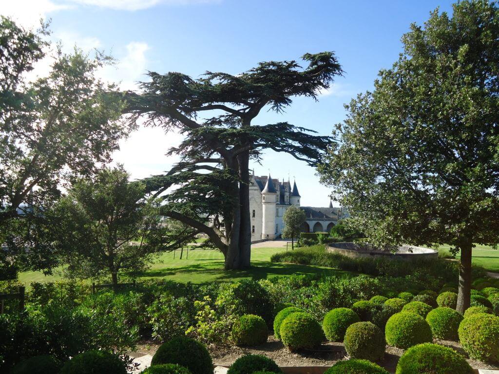 Os belos jardins de Amboise