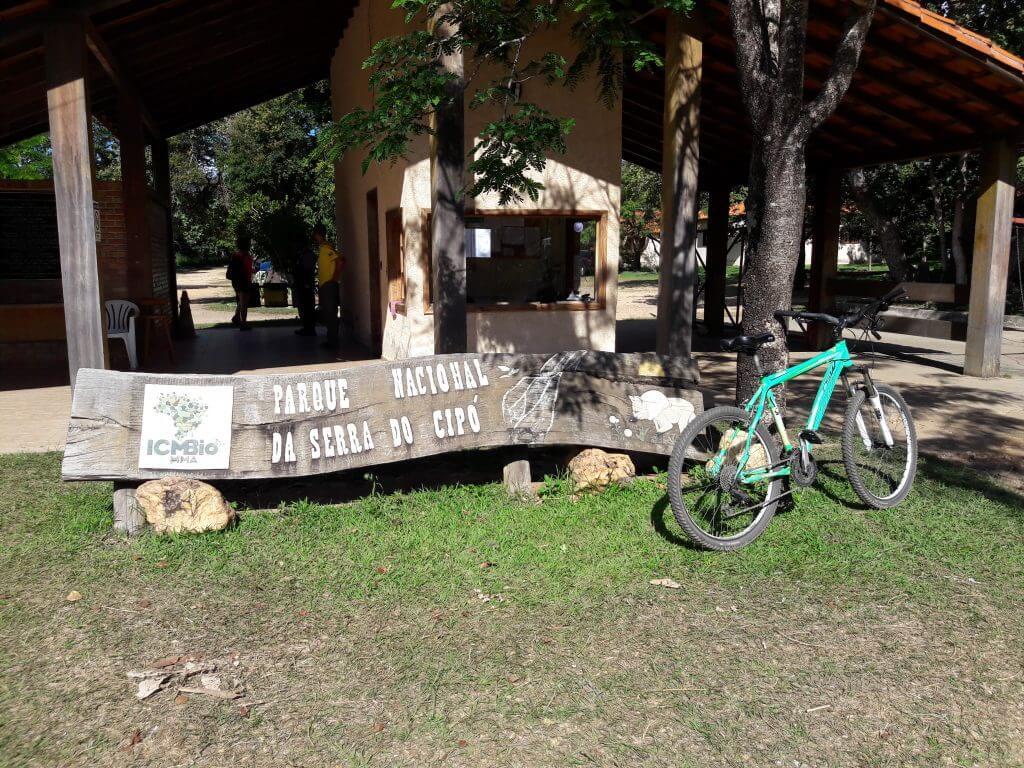 A entrada da Portaria Areias e o dia dos 40Km de bike