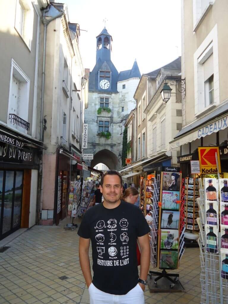 Uma volta pelas ruas de Amboise