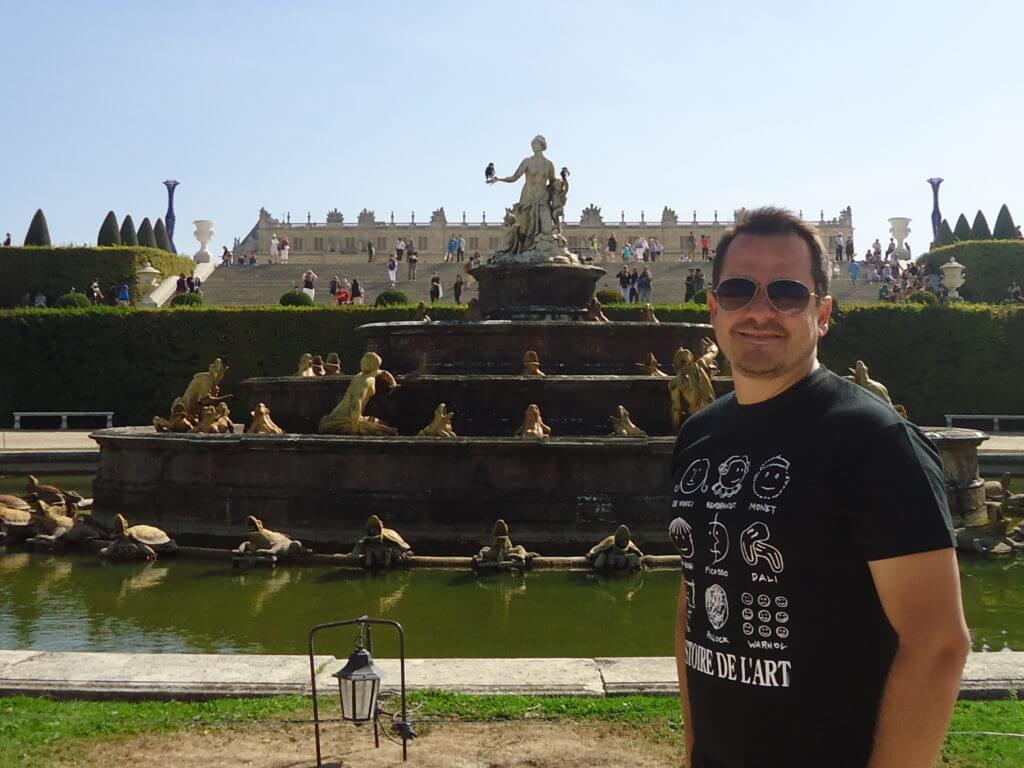 Tudo bem que você vai ao Vale do Loire, mas não deixe de conhecer Versailles um dos mais bonitos Castelos da França
