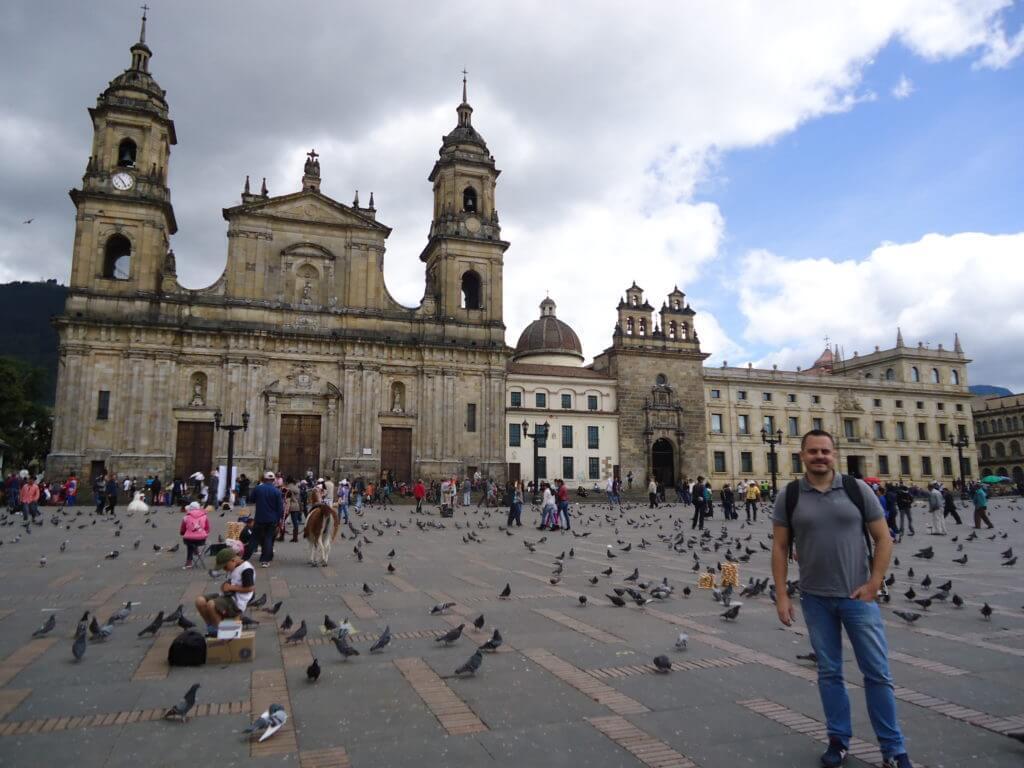 O centro histórico de Bogotá. Catedral de Sal de Zipaquirá