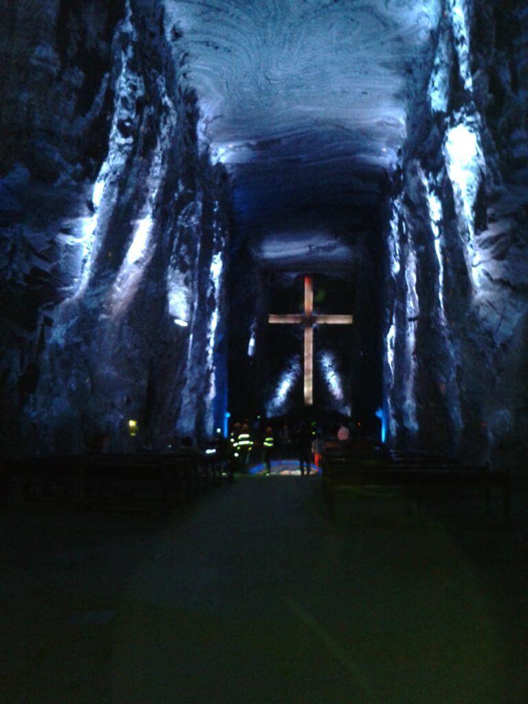 A grandiosa Catedral de Sal