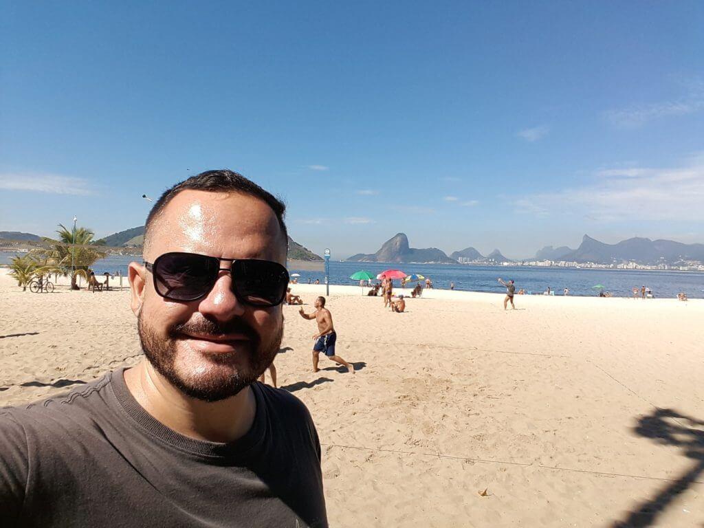 Logo cedo em Icaraí vendo o Rio por outro ângulo turismo em Niterói