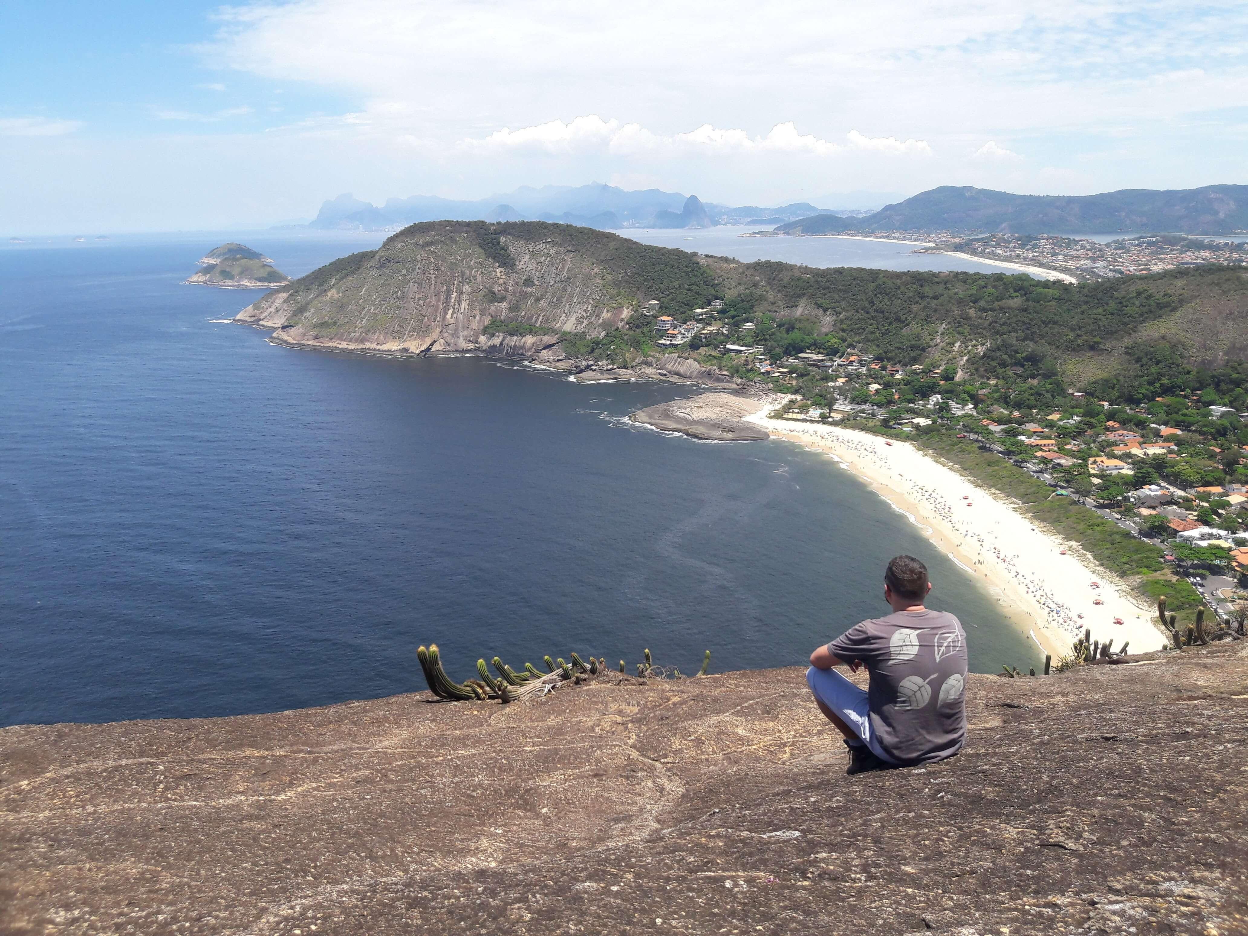Praia, lago, montanha e o Rio de Janeiro