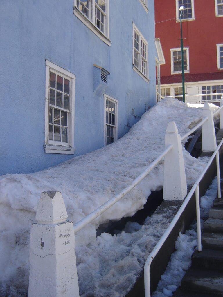 A neve em Sewell é companheira inseparável