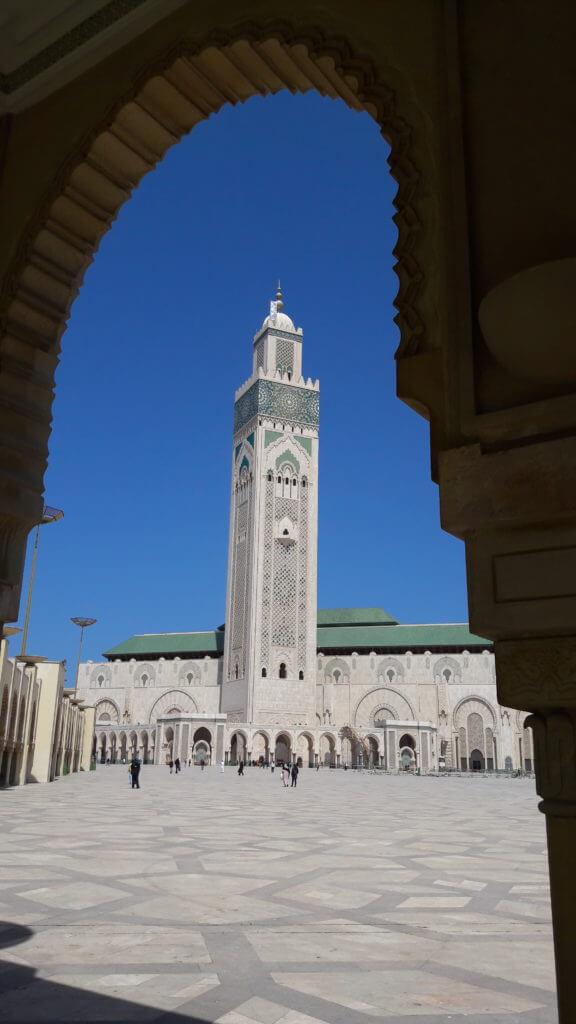 A grandiosidade da Mesquita Hassan II