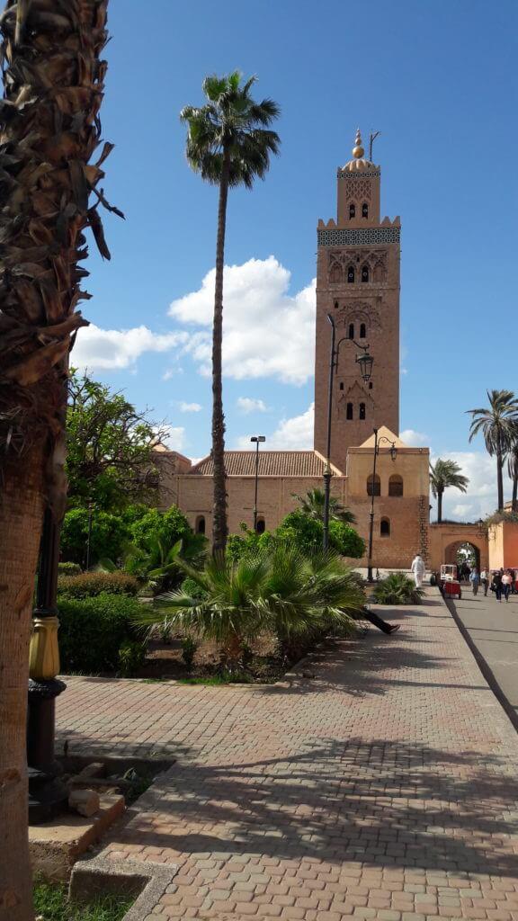 Qualquer roteiro pelo Marrocos deve passar pela linda Marrakesh