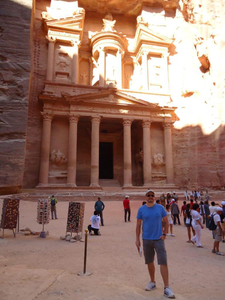 A incrível Petra na Jordânia