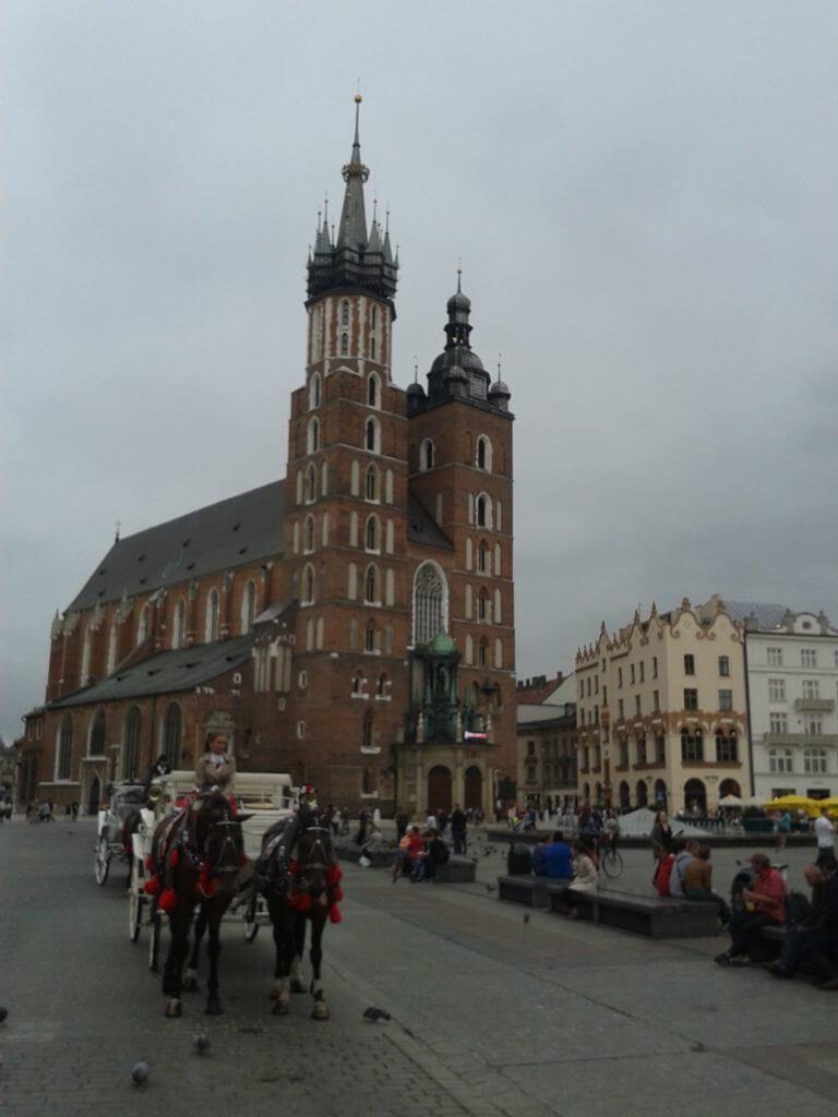 A Igreja da Virgem Maria em Cracóvia