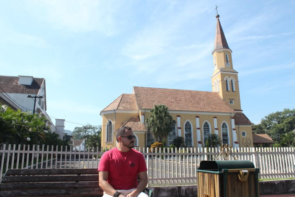 A tranquilidade de Pomerode no interior de Santa Catarina