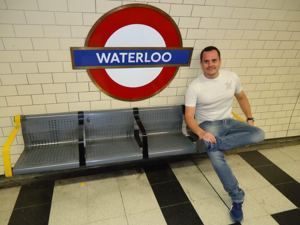 Depois de alguns dias em Londres, ficou fácil me virar nos metrôs da cidade.