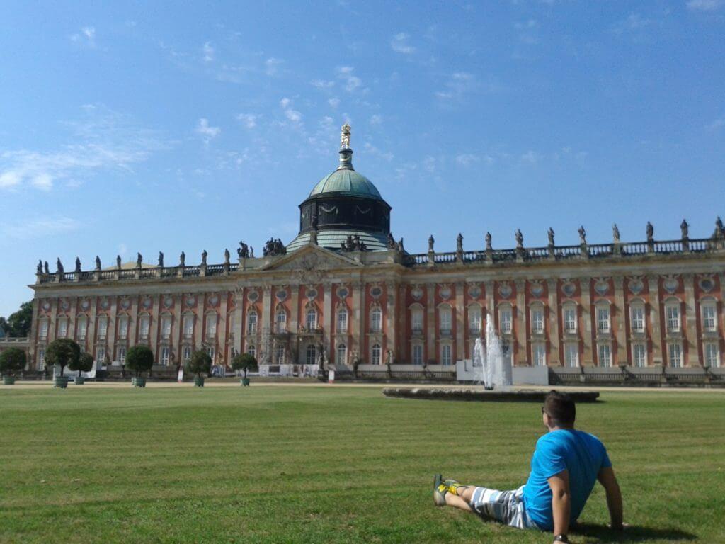 Este Neues Palais é bonitão mesmo