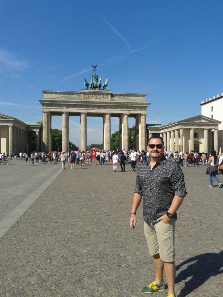 Quando viajei sozinho para Berlin
