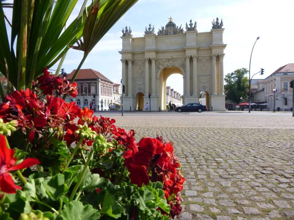 Sabia que em Potsdam também tem um Portão de Bramdemburgo ?