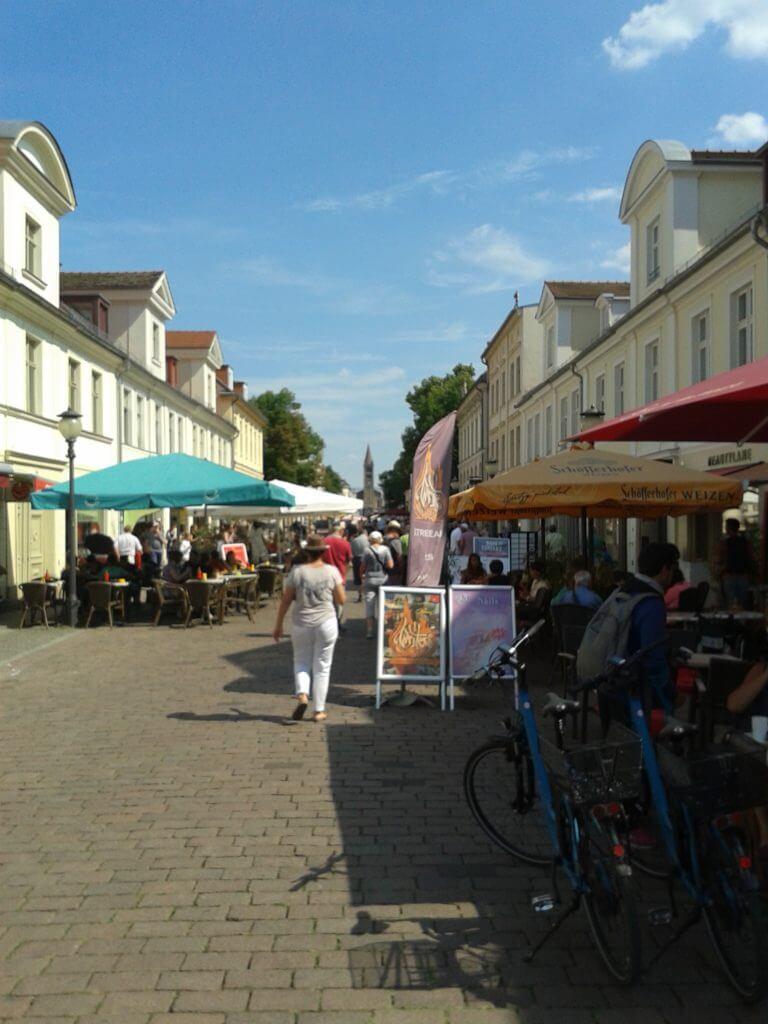 Depois de andar pelo parque ainda dei uma volta pelas ruas de Potsdam.