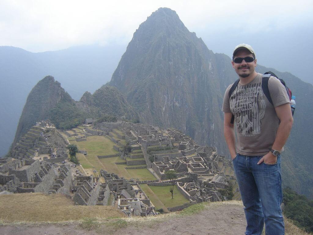 Machu Pichu foi uma viagem de auto descobrimento para mim.