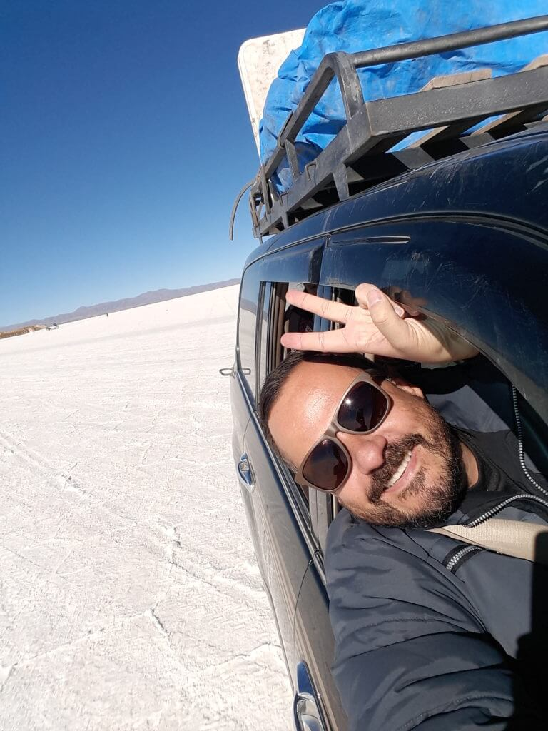 Por incrível que pareça consegui wifi no alojamento no Salar de Uyuni na Bolívia
