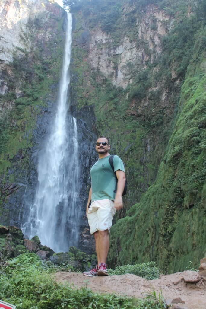 O Salto Grande na Rota das Cachoeiras em Corupá