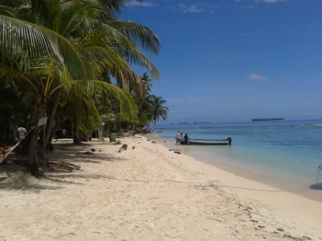 A paradisíaca San Blás no Panamá