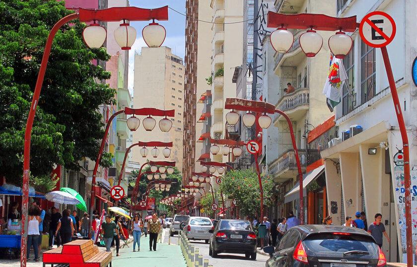 O bairro Japonês de São Paulo - A Liberdade
