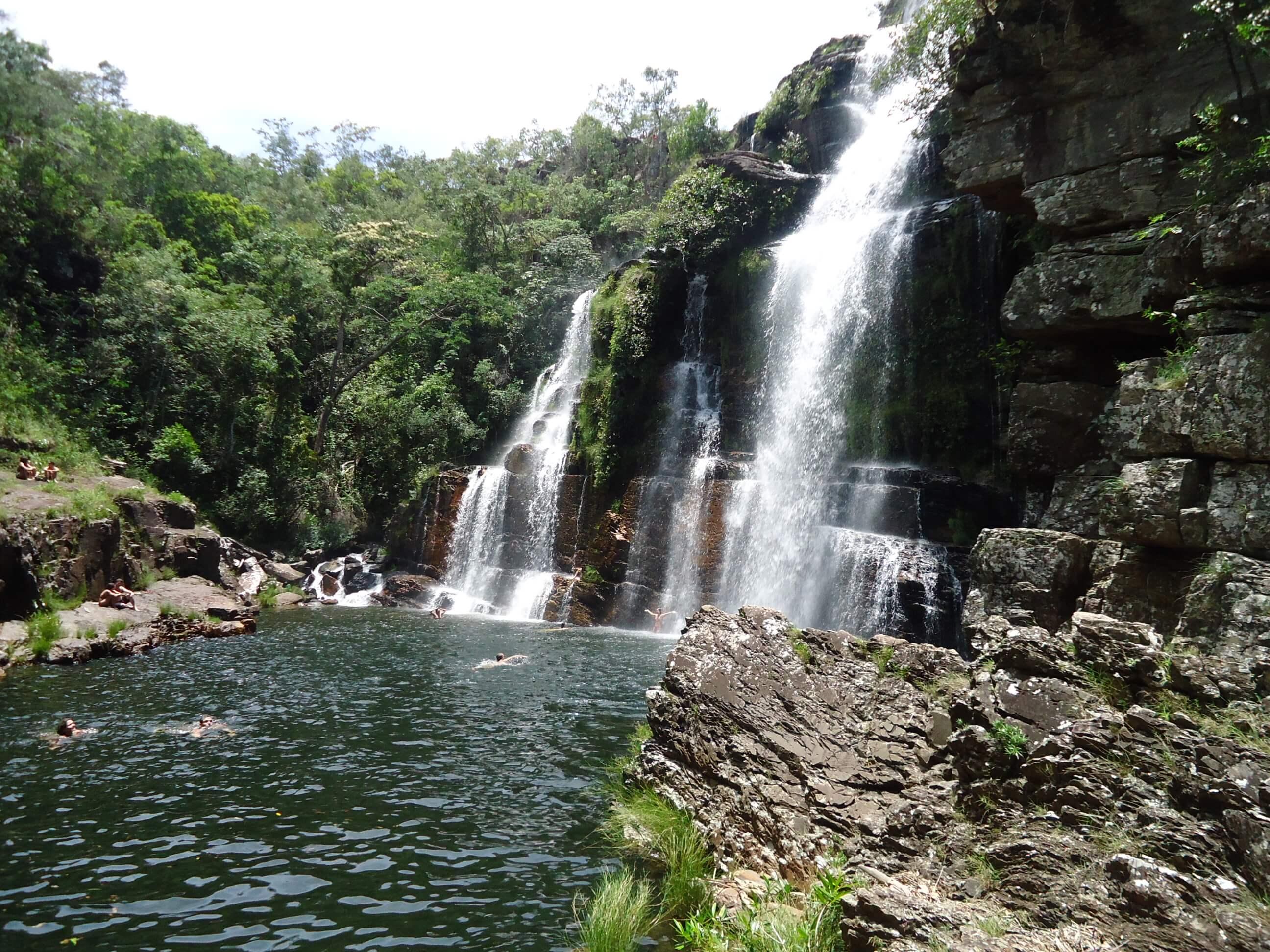 As lindas cachoeiras da Chapada dos Veadeiros