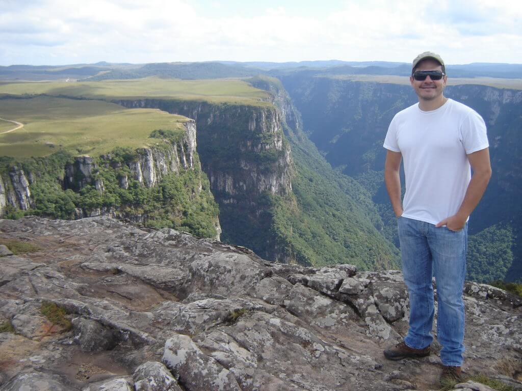 Toda a grandiosidade do Cânion Fortaleza, um dos mais bonitos Cânions no Rio Grande do Sul