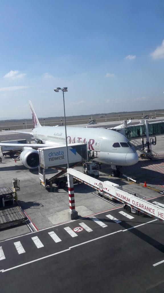 Dependendo do horário do voo é preciso fazer alguma refeição antes do embarque.