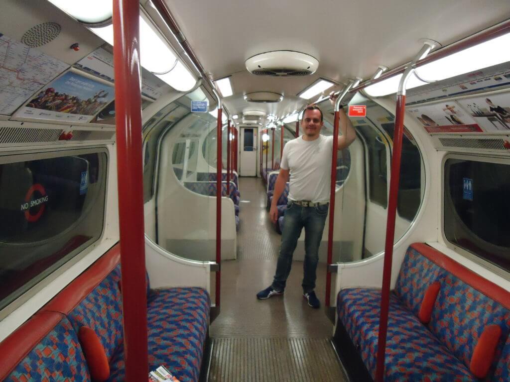 Um metrô para chamar de meu em Londres