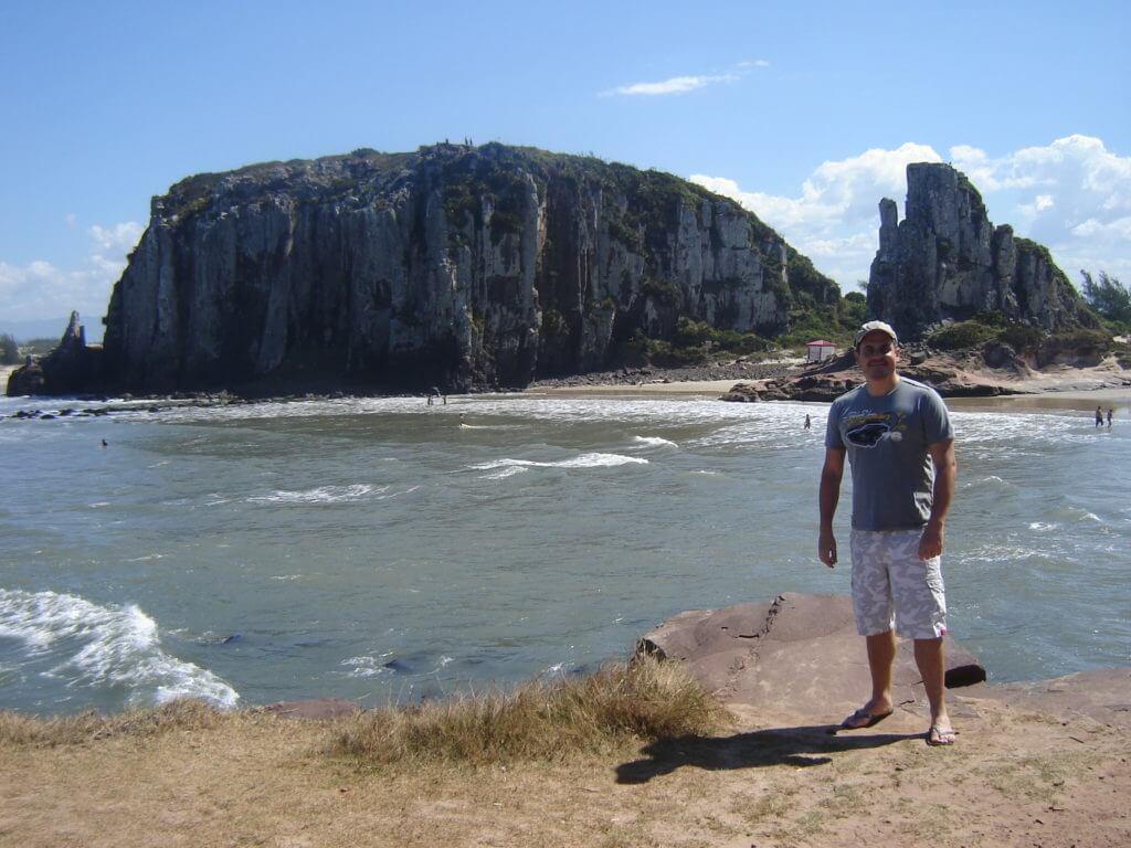 As belíssimas formações rochosas na Praias de Torres