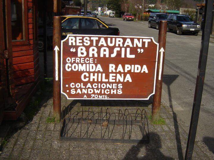 Não tenha vergonha de pedir o menu antes de entrar no restaurante. Assim você não tem surpresas.