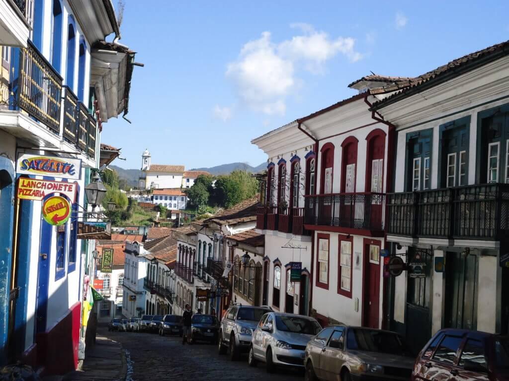 Andar pelas ruas de pedra em Ouro Preto é um mergulho no passado