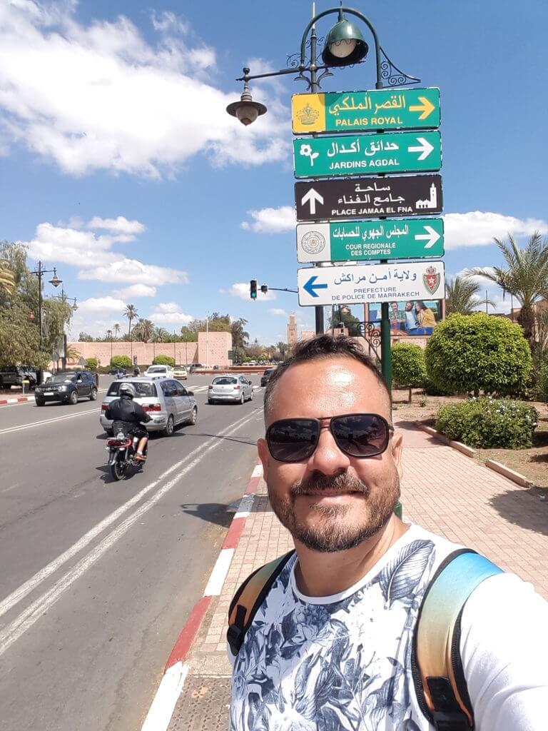 Andar a pé por Marrakesh sempre é uma delícia