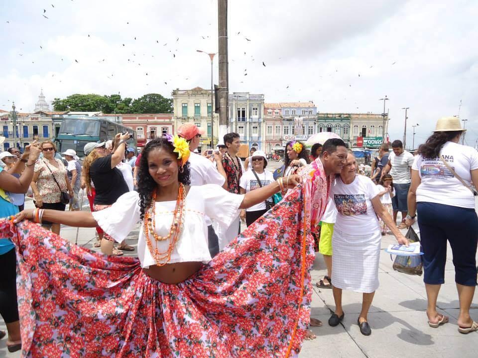 O Carimbó no Ver-o-Peso Pontos Turísticos de Belém do Pará