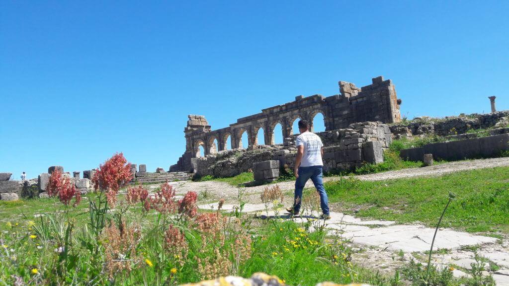 E os romanos também chegaram aqui