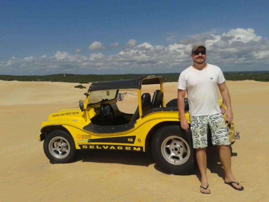 Pelas dunas do litoral norte