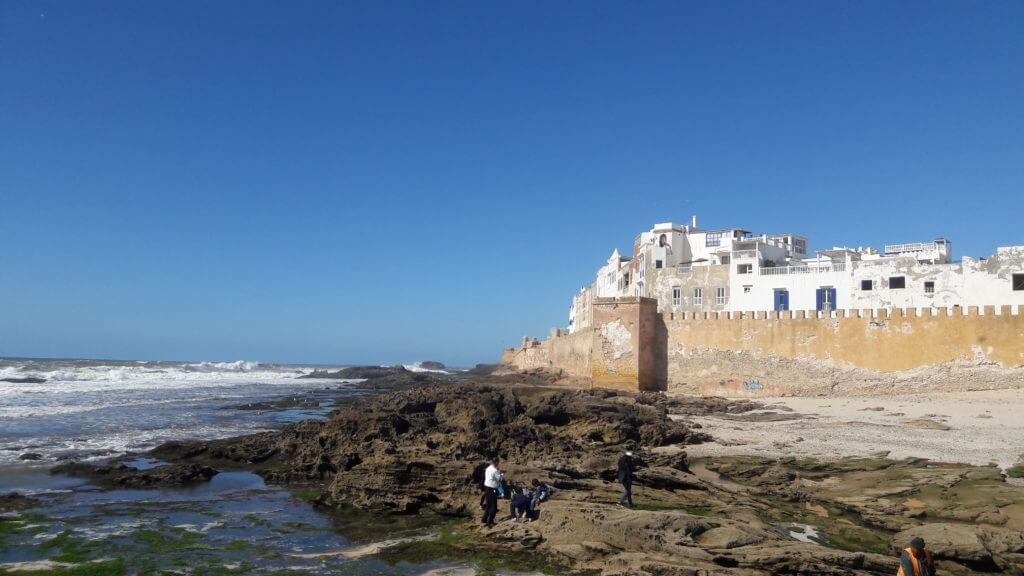 Relaxe caminhando pela bela Essaouira