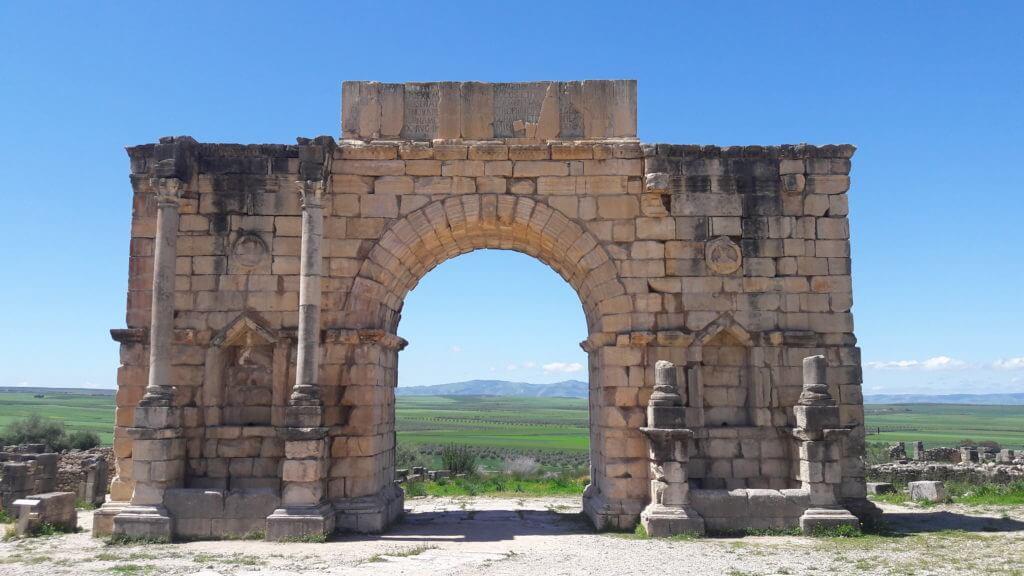 O Grande Arco em Volubilis