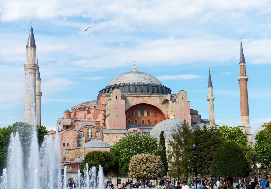 A Hagia Sophia é testemunha de toda a história de Istambul