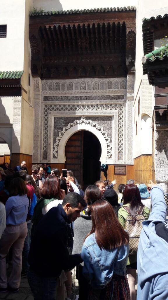 As agitadas ruas da Medina de Fez