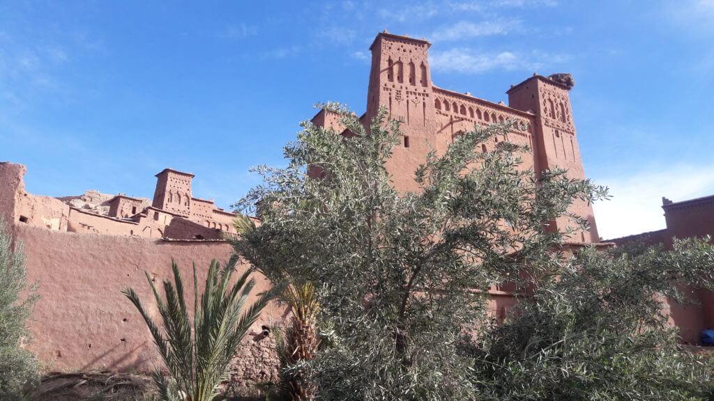 O incrível Ksar Ait Ben Haddou com sua arquitetura preservada