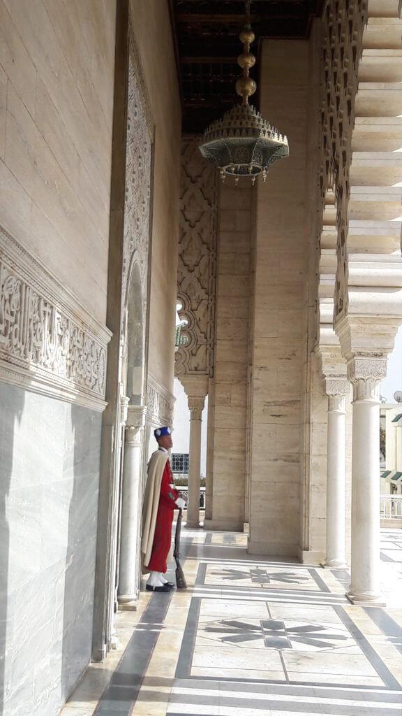 A arquitetura do Mausoléu é rica em detalhes