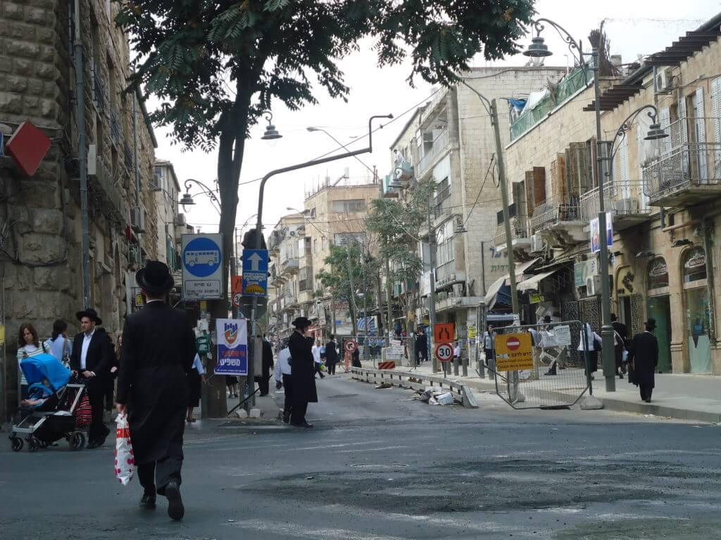O Mea Sharim é o bairro dos judeus ultra ortodoxos em Jerusalém