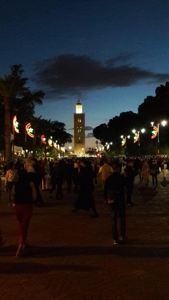 O Minarete da Mesquita Koutoubia