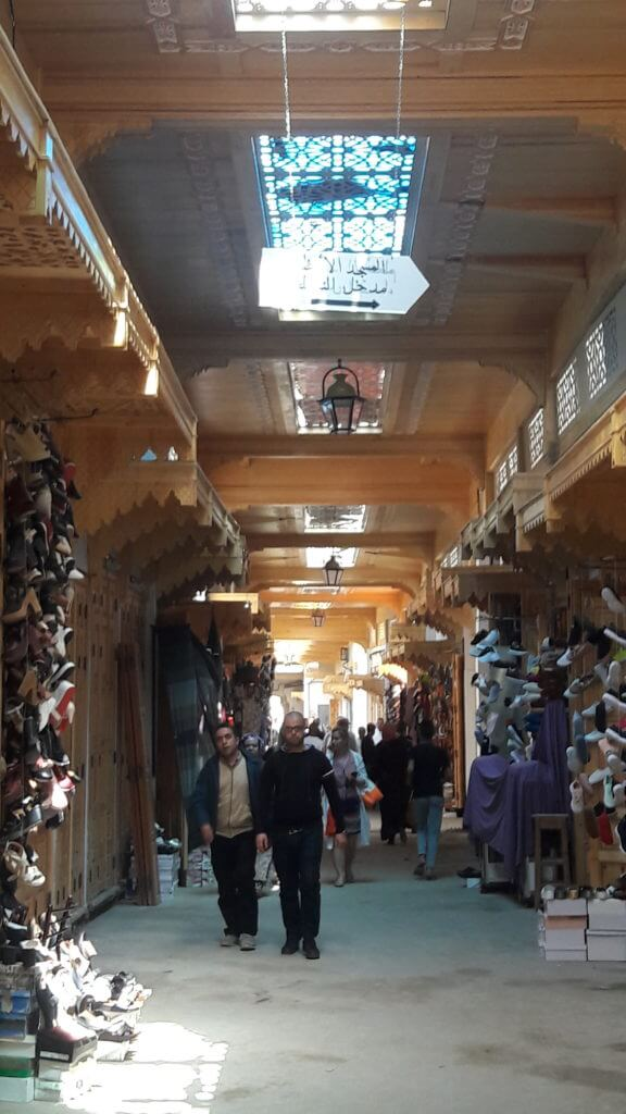 Caminhando pela medina de Rabat