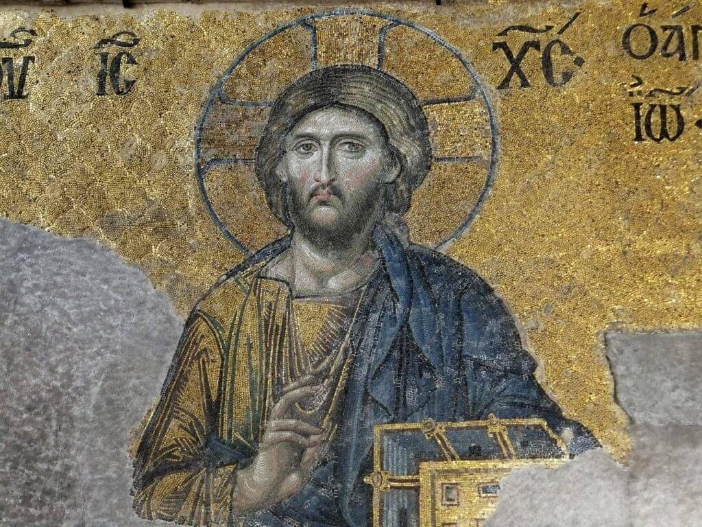 Os mosaicos na Hagia Sophia