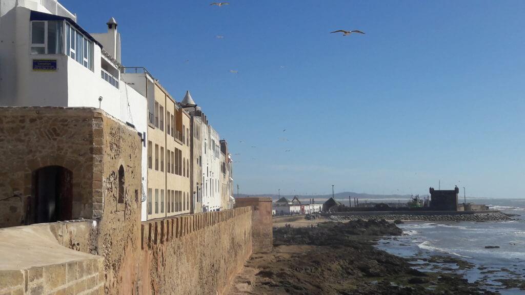 As muralhas de Essaouira sempre garantem excelentes visuais.